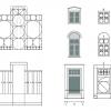 Appartementengebouw Apeldoorn - proportieschema's