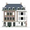 Appartementengebouw Apeldoorn - kleurenschema