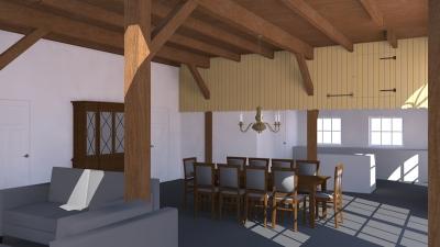 Renovatie Twentse Boerderij 1 3D