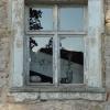 Kreuzstockfenster in Fenstergewände mit Ohren 1762